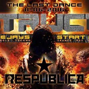The End - Destruction Session Finale / 5 Dancefloors / 60 Artistes