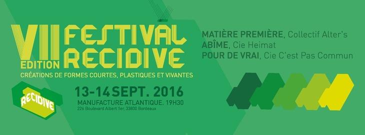 Festival Récidive - 7ème édition
