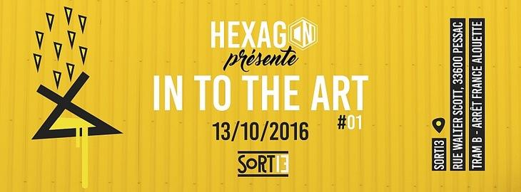 Into the Art #01 x Hexagon