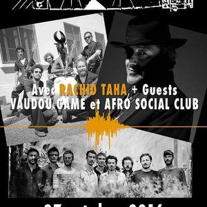 Rachid Taha + Vaudou Game + Afro Social Club