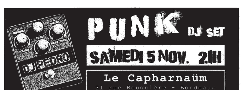 PUNK DJ set