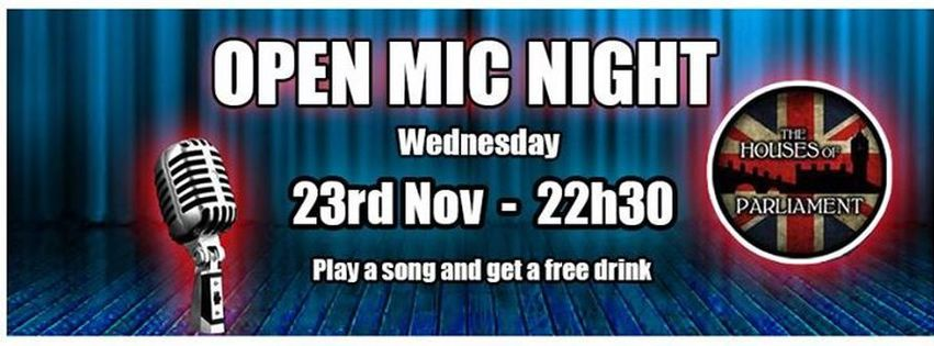 Open Mic - The Houses of Parliament