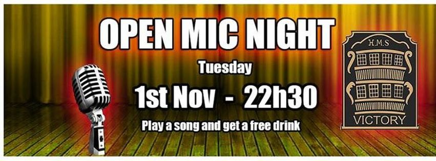 Open Mic - HMS Victory