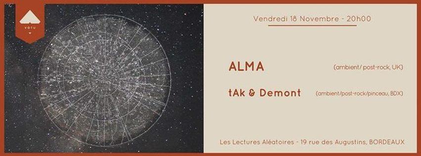 ALMA + tAk & Demont