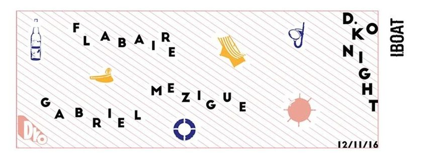 D.KO Records : avec Mézigue + Flabaire + Gabriel