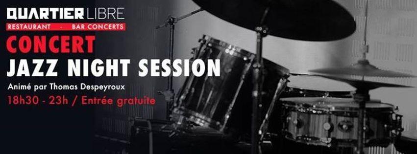 Jazz Night Session (jam jazz, blues, funk)