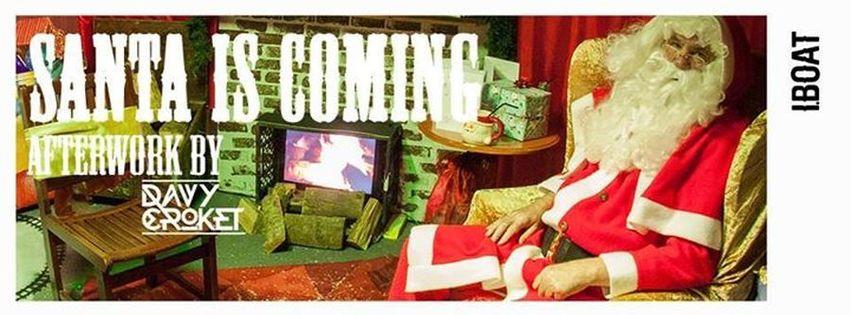 Aperoboat : Santa is Coming, avec Davy Croket