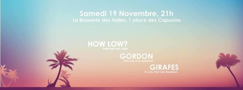 How Low? +  Gordon + Girafes