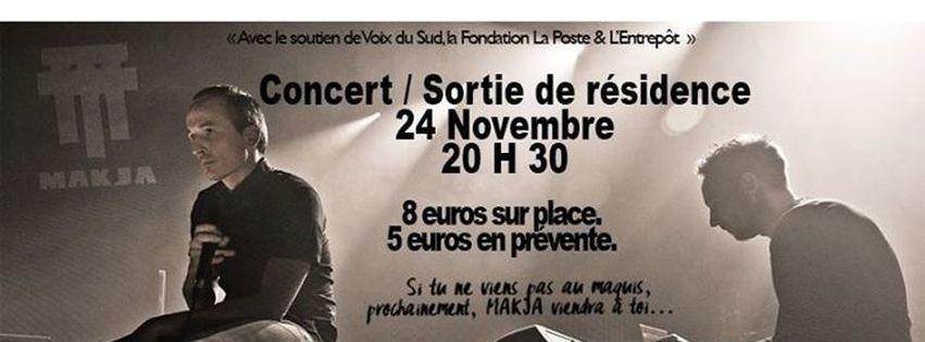 Concert de Sortie de résidence : MAKJA