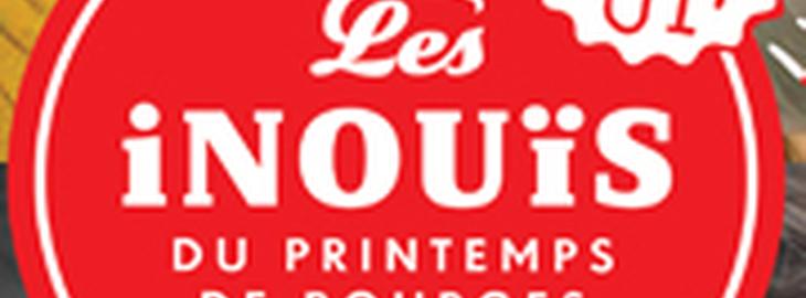 Auditions Régionales Des Inouis Du Printemps de Bourges : avec Girafes + StrayBird + Génial au Japon + Titanic + Fléau + Lumi + Square Lines + Ariel Ariel