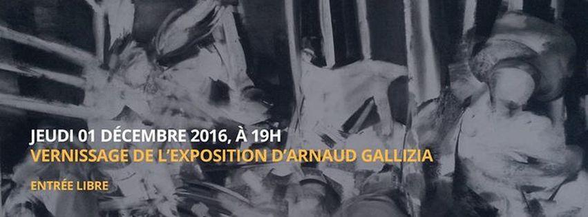 Vernissage | Exposition Arnaud Gallizia