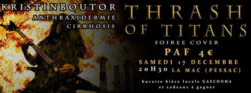 Thrash of Titans - Soirée cover