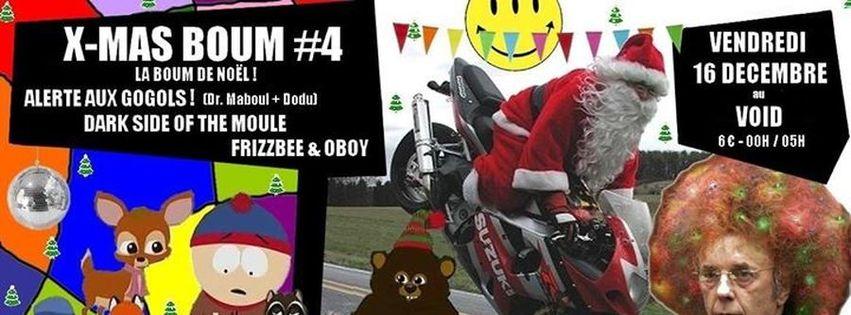 X-MAS BOUM #4 - La boum de Noël !