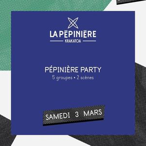 Pépinière Party (5 groupes - 2 scènes)