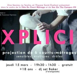 Explicit (films + dj set) - La fête du court métrage