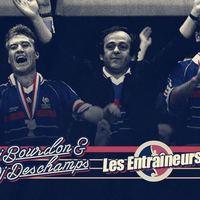 Dj Bourdon & Dj Deschamps vs Les Entraîneurs : match de fête