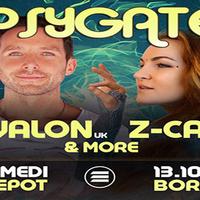 Psygate : avec Avalon + Z-Cat + Guests