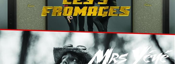 LES FOUS RIRES DE BORDEAUX #3 - LES 3 FROMAGES + MRS YEYE