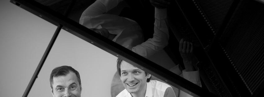 Guillaume COPPOLA et Hervé BILLAUT, piano à quatre mains