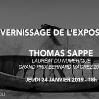 Vernissage et exposition de Thomas Sappe