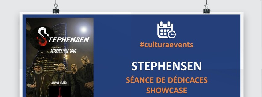 Stephensen en showcase