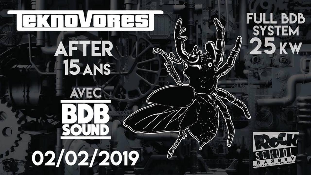 BDB Sound vs Teknovores : After 15 Ans