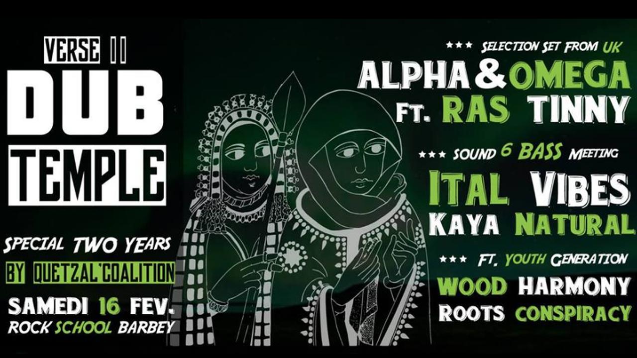 Dub Temple #2 Avec Alpha & Omega Ft. Ras Tinny, Sound Meeting