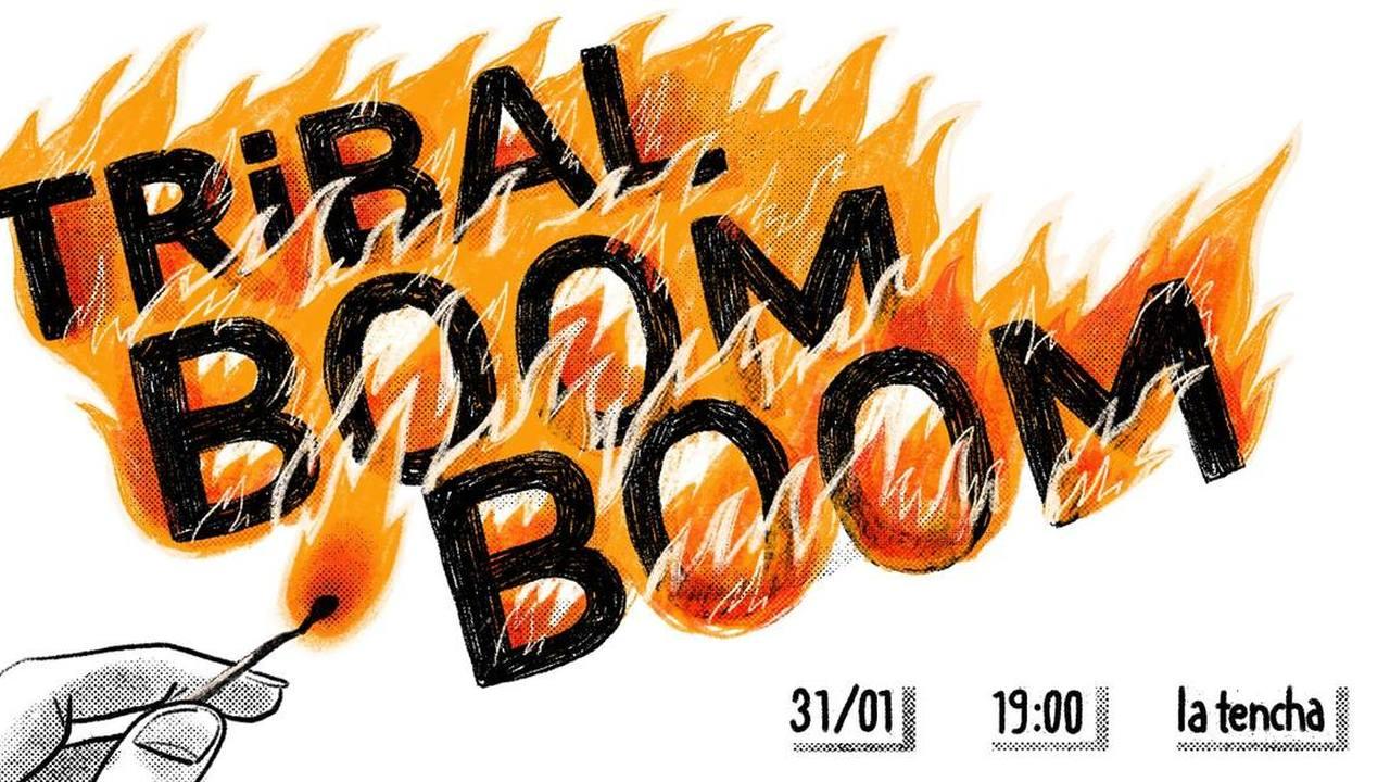Tribal Boom Boom par Tribal Traquenard : fanzine, dj set, quiz