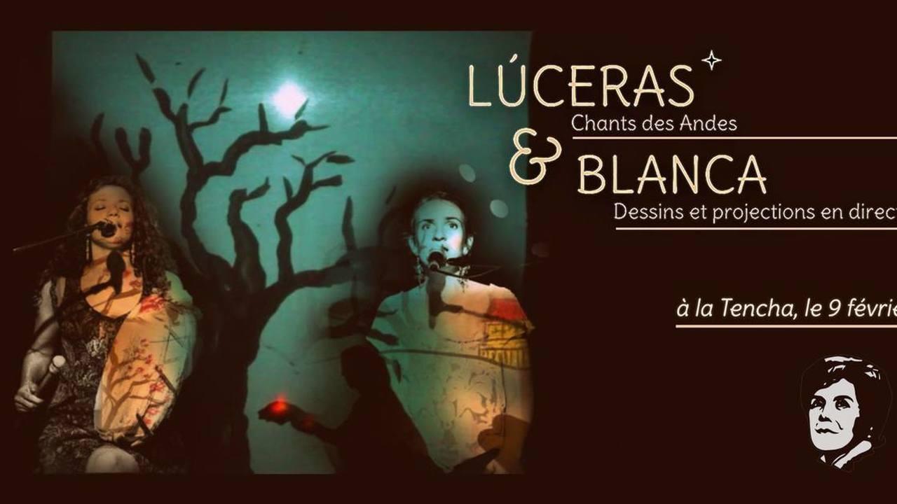 Concert dessiné : avec Luceras & Blanca