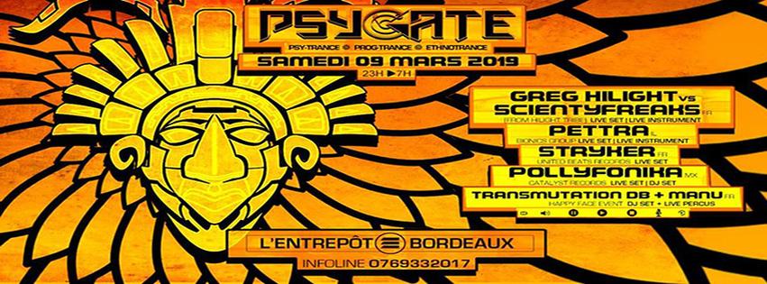 Psygate : avec Greg Hilight vs Scientyfreaks + Pettra + Stryker