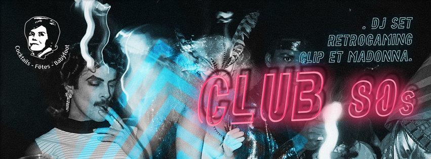 Club 80 à La Tencha : clips & dj set