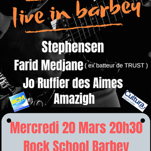 Live in Barbey : avec Stephensen + Farid Medjane + Amazigh + Acoustic Lamp