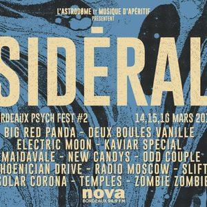 Sidéral #02 Bordeaux Psych Fest 2019
