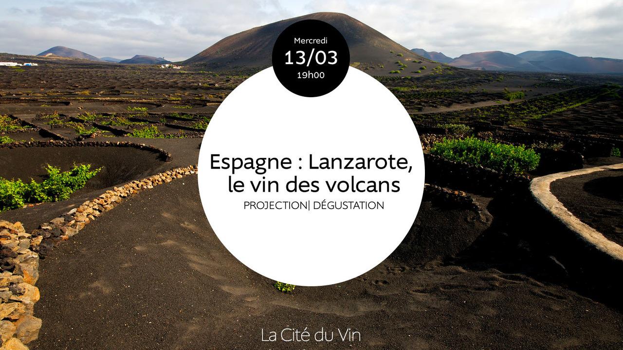 Espagne : Lanzarote, le vin des volcans