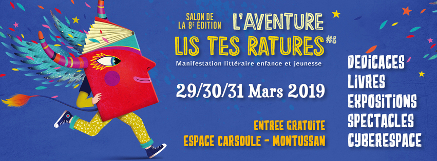 Lis Tes Ratures : Salon littéraire enfance et jeunesse