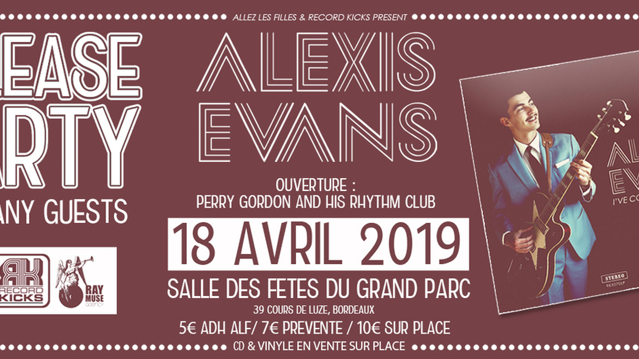 Alexis Evans (Release Party)