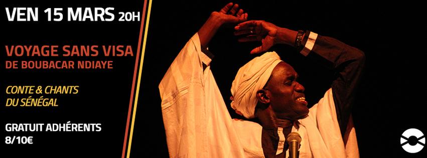 VOYAGE SANS VISA, de Boubacar NDIAYE