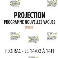 La Fête du court métrage / Projection : Nouvelles Vagues