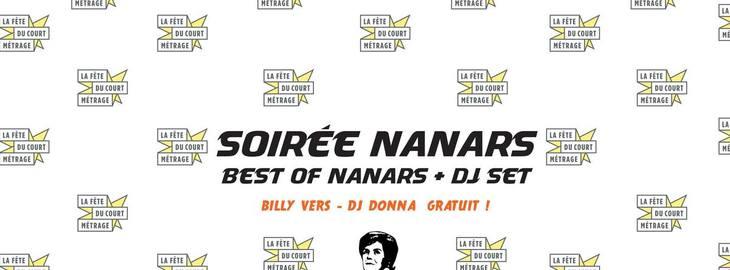 La Fête du court métrage / 100% Nanar (projection + dj set)