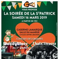 Concert de la St Patrick : Woody Blues + Dulcimer