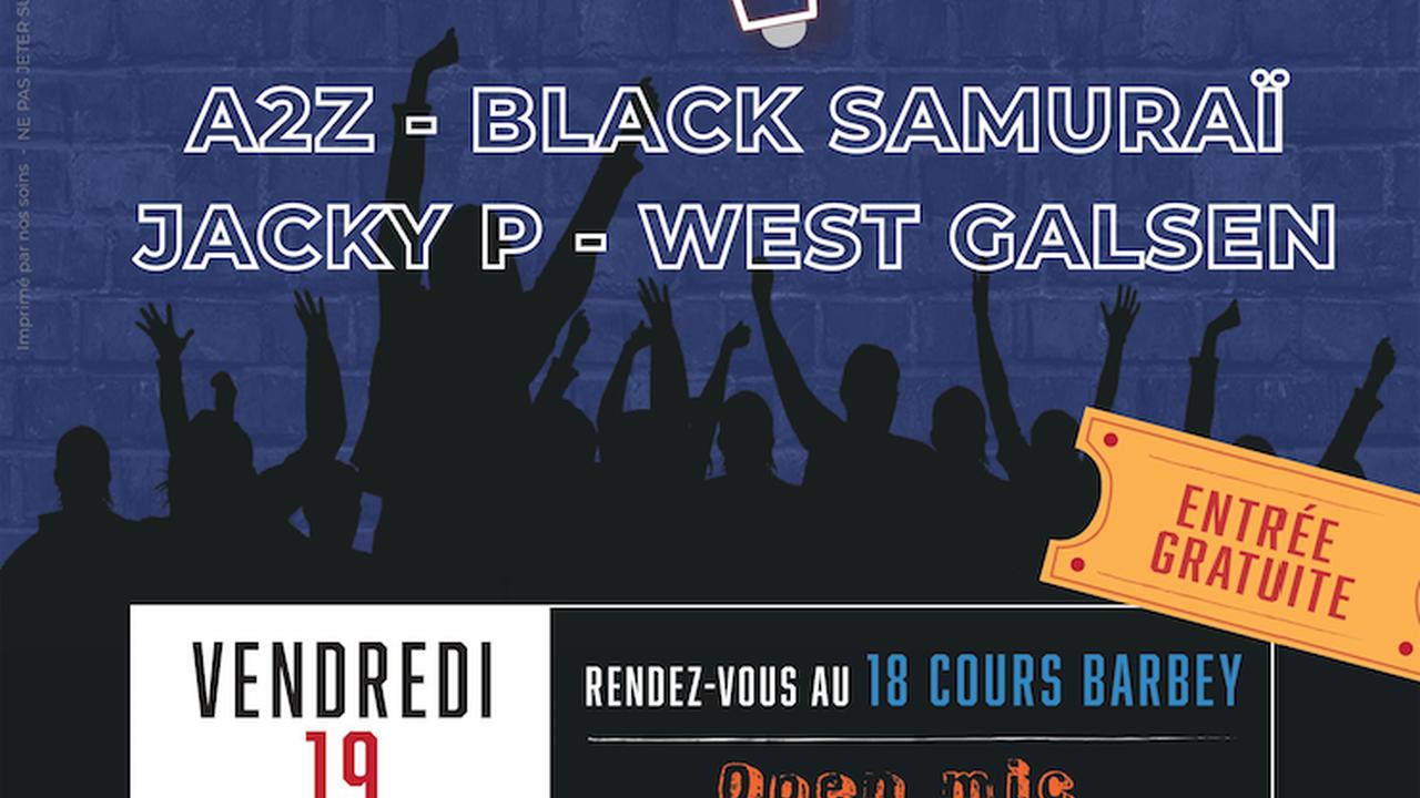 URBAN NIGHT avec A2Z + BLACK SAMOURAÏ + JACKY P + WEST GALSEN