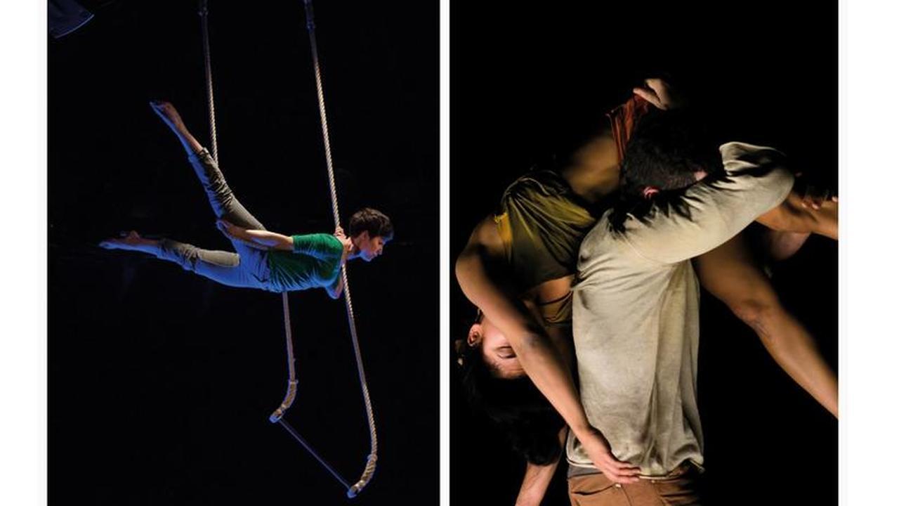 Festival Chapitoscope 2019 - Michel Godard et Jennifer François et Cie Libertivore - I danzatori delle stelle / Phasme