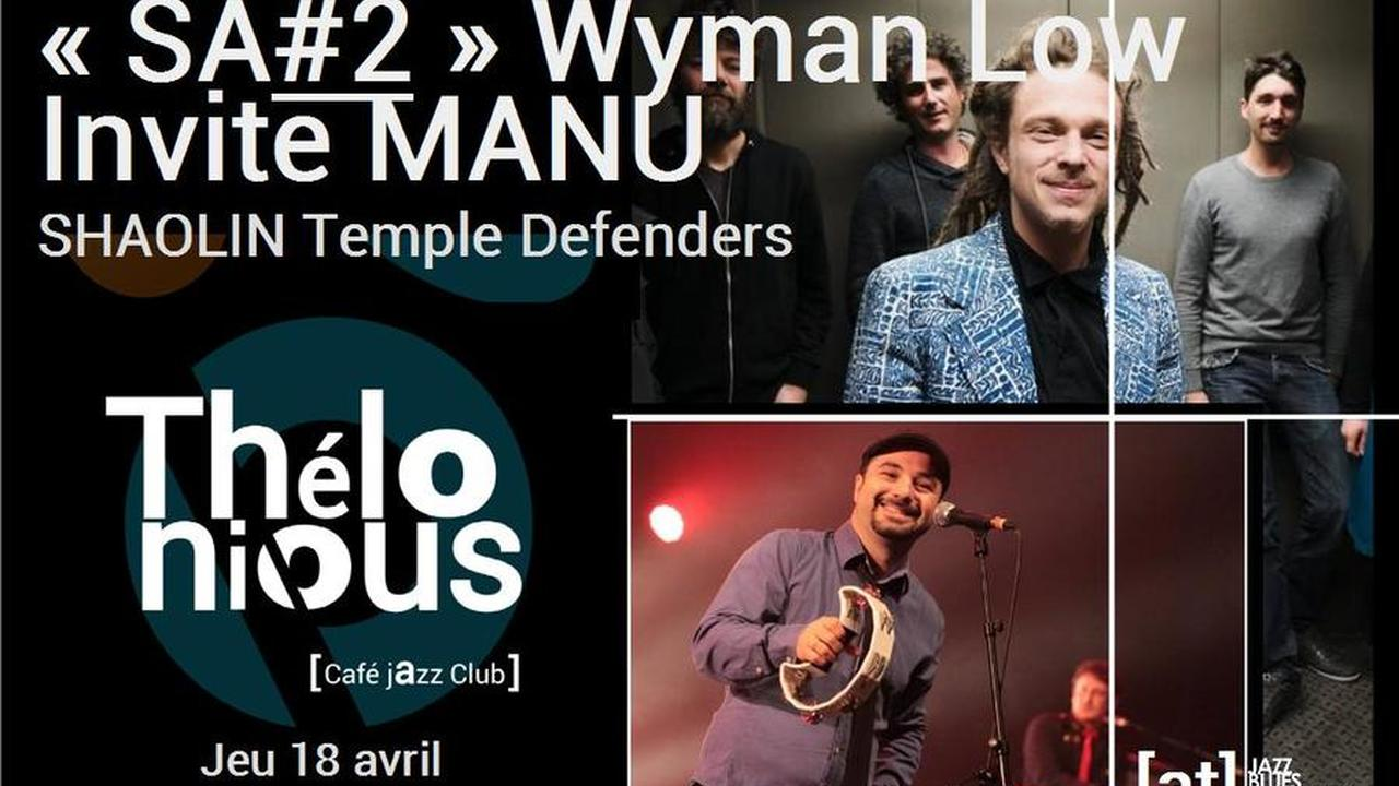 Wyman invite Manu Shaolin en session acoutisque jam