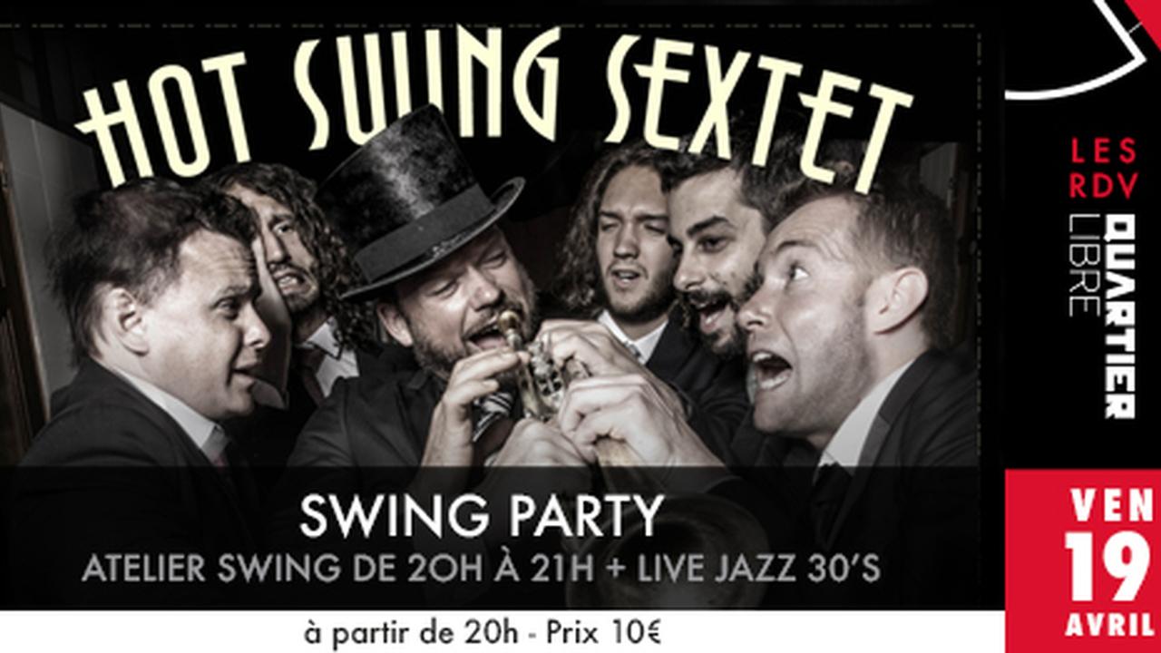 Swing Party avec Hot Swing Sextet