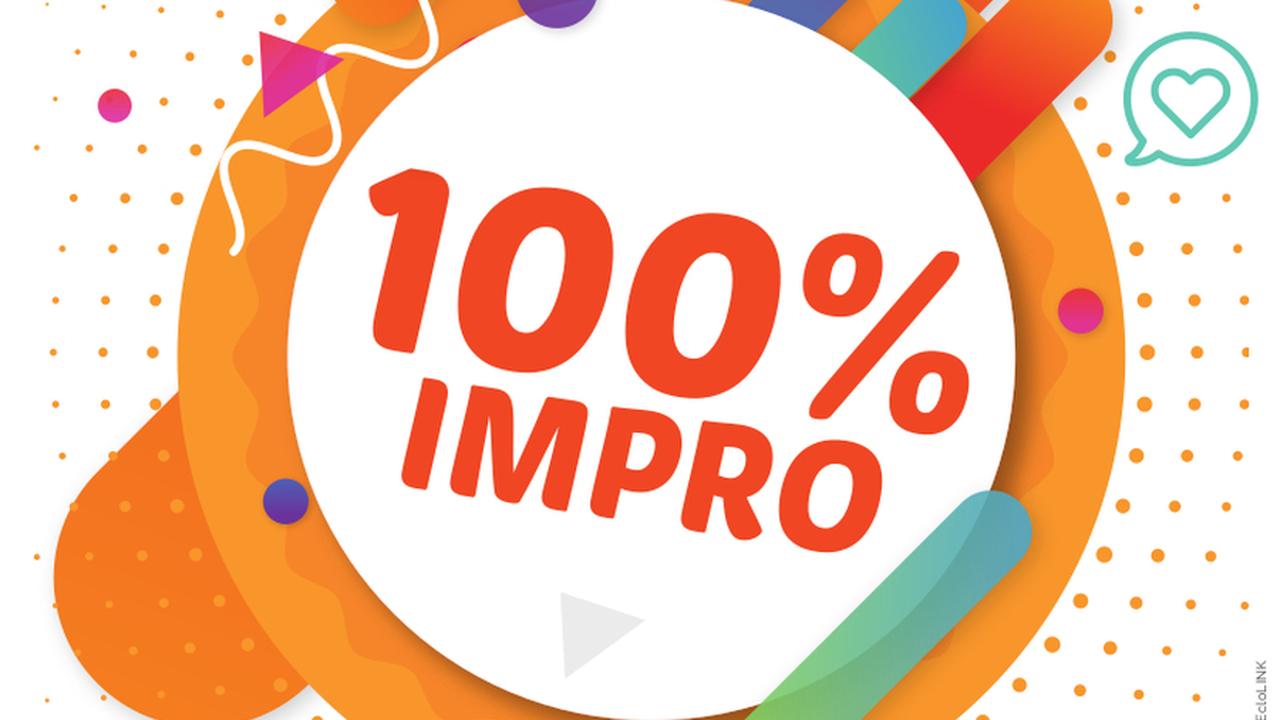 100% IMPRO !