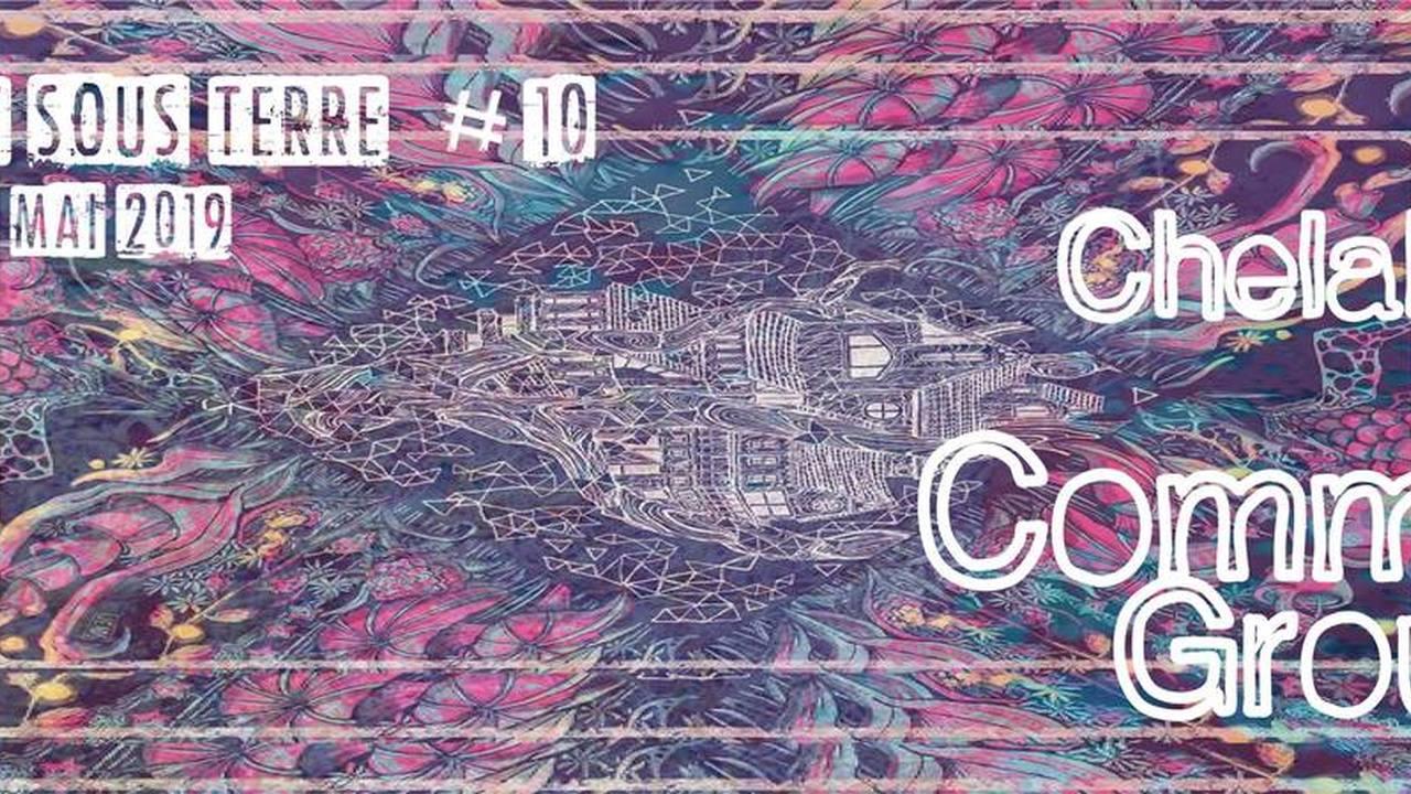 CONCERT SOUS TERRE #10 : avec Chelabôm + Common Ground