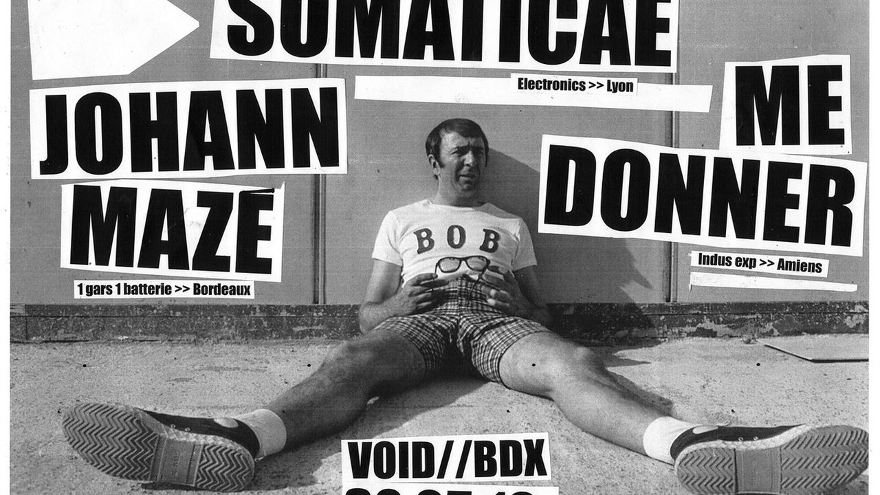 ME DONNER + SOMATICAE + JOHANN MAZÉ