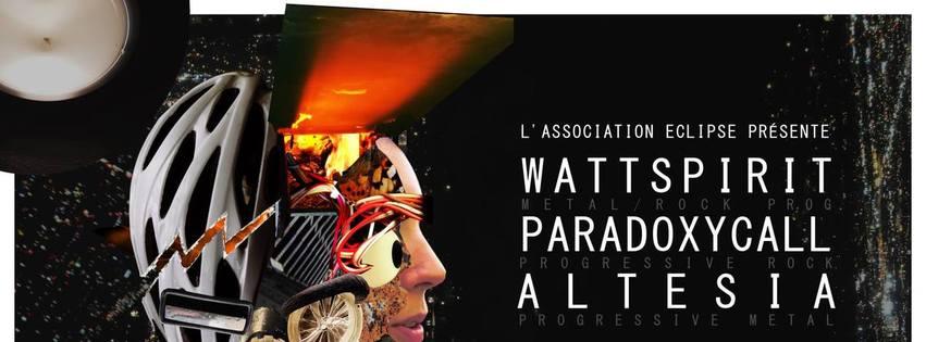 WATTSPIRIT + PARADOXYCALL + ALTESIA