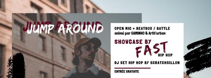 Jump Around #5 : open-mic, showcase & DJ set hip-hop