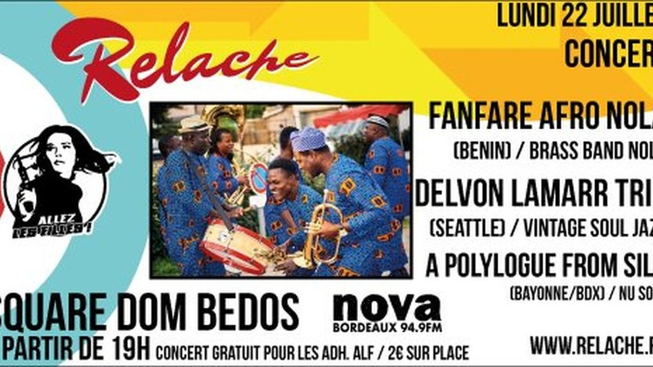 Relache n°10 - Fanfare Nola + Delvon Lamarr + A Polylogue from Sila